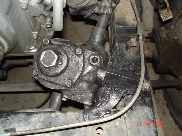 Ремонт рулевого управления уаз 469 своими руками